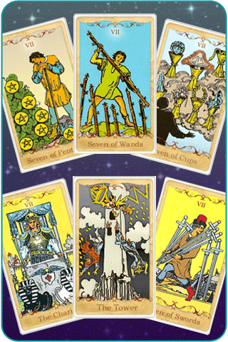 7 cards of the tarot