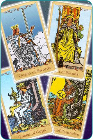 queen tarot cards