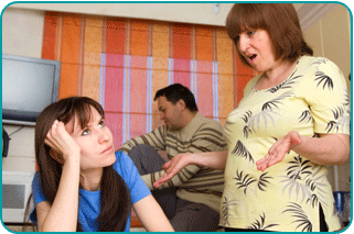 couple and mother in-law occupying same room