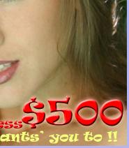 Pay the Princess $500