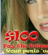 Pay the Princess $100